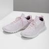 Różowe dzianinowe trampki damskie power, różowy, 509-0211 - 16