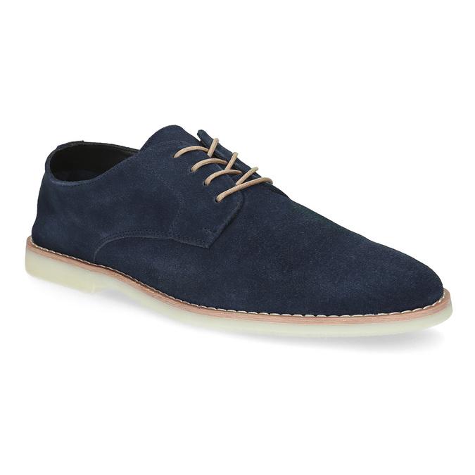 Niebieskie nieformalne półbuty męskie bata-red-label, niebieski, 823-9625 - 13