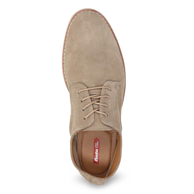 Beżowe nieformalne półbuty męskie bata-red-label, beżowy, 823-8625 - 17