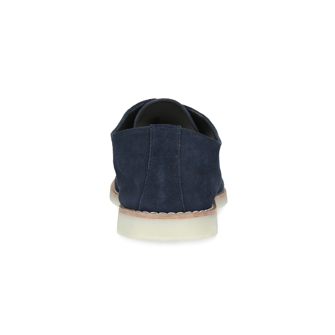 Niebieskie nieformalne półbuty męskie bata-red-label, niebieski, 823-9625 - 15