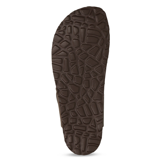 Skórzane japonki męskie bata, brązowy, 866-4848 - 18
