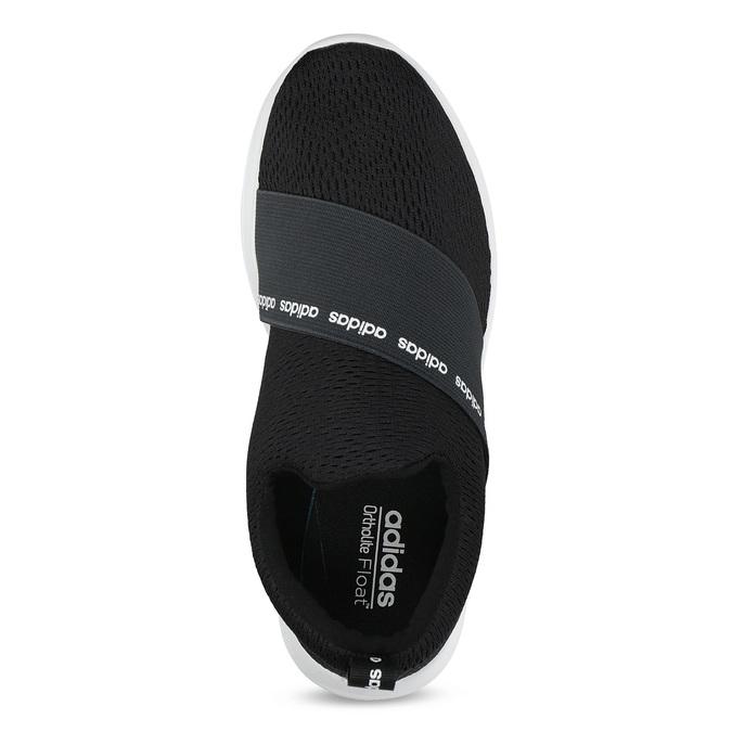 Czarne wsuwane trampki adidas, czarny, 509-6565 - 17