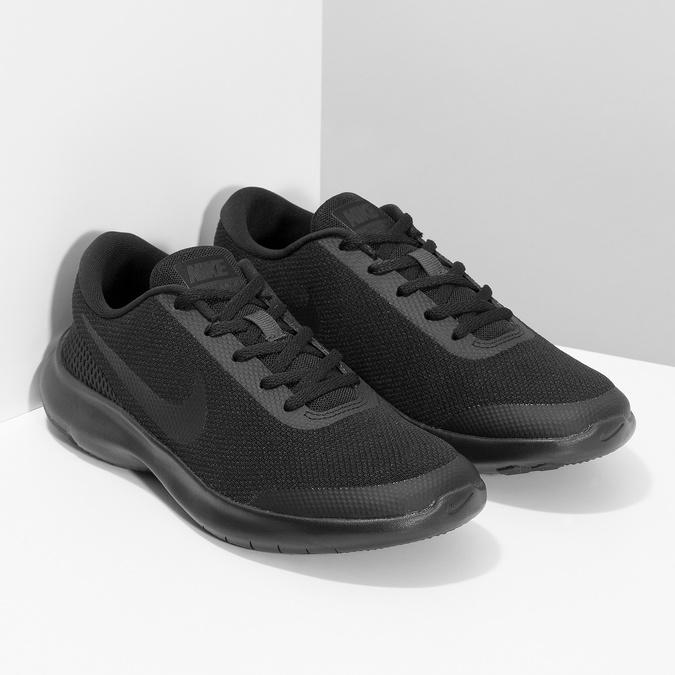 Czarne trampki damskie wsportowym stylu nike, czarny, 509-6850 - 26