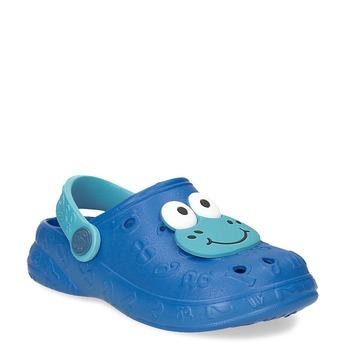 Niebieskie sandały dziecięce zżabkami coqui, niebieski, 272-9651 - 13