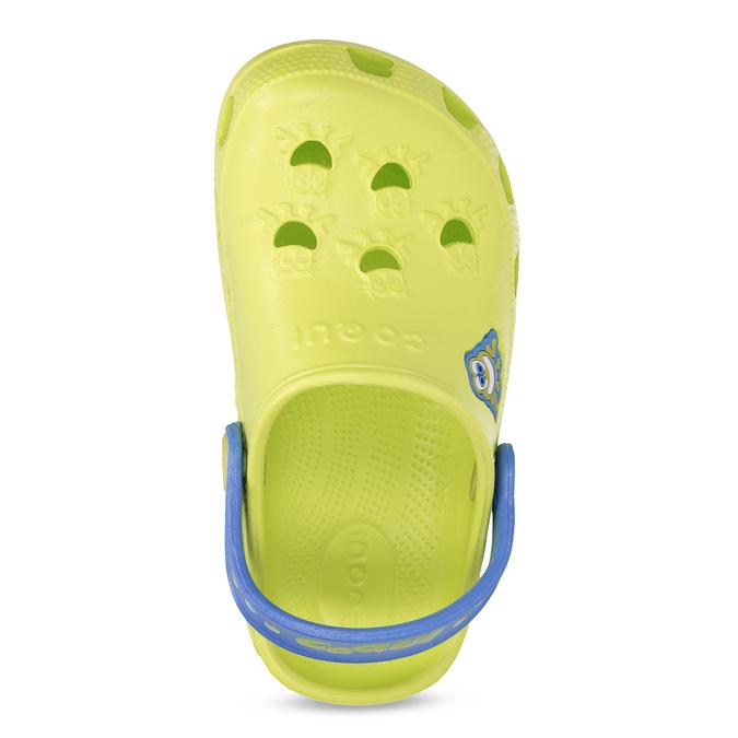 Sandały dziecięce zżabkami coqui, zielony, 272-7650 - 17