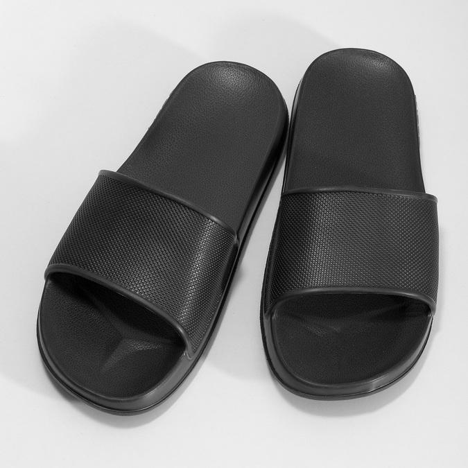 Ciemnoszare klapki męskie coqui, czarny, 872-2658 - 16
