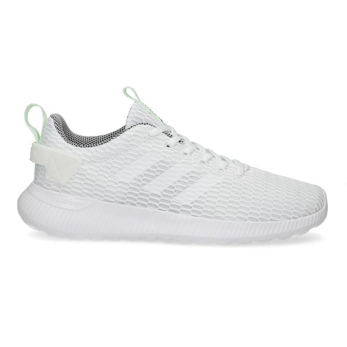 Białe siatkowe trampki adidas, biały, 509-1635 - 19