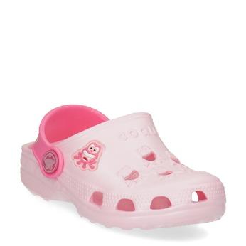 Różowe sandały dziewczęce zżabkami coqui, różowy, 272-5650 - 13