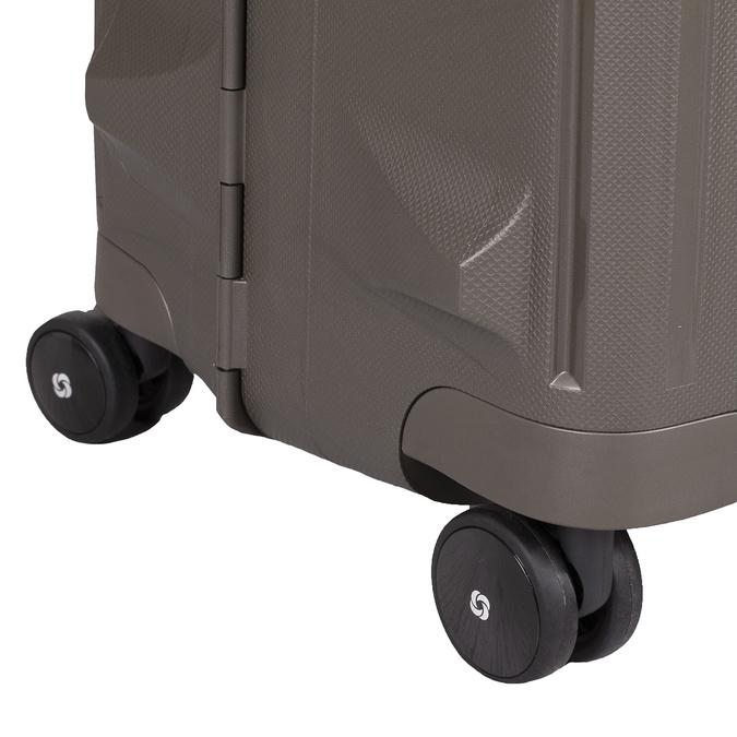 Czarna walizka na kółkach samsonite, brązowy, 960-4612 - 16
