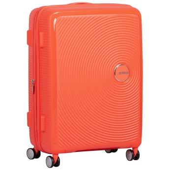 Pomarańczowa walizka na kółkach american-tourister, pomarańczowy, 960-5614 - 13