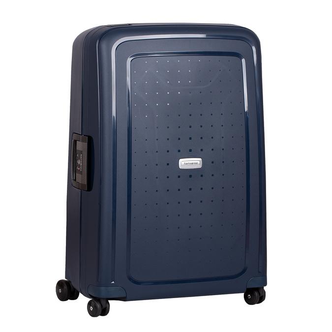 Twarda granatowa walizka na kółkach samsonite, niebieski, 960-9612 - 13