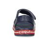 Granatowe sandały dziecęce coqui, niebieski, 372-9658 - 15