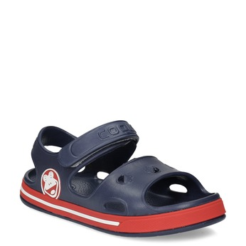 Granatowe sandały dziecęce coqui, niebieski, 372-9658 - 13