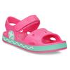 Różowe sandały dziewczęce coqui, różowy, 372-5658 - 13