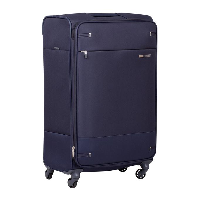 Duża miękka granatowa walizka na kółkach samsonite, niebieski, 960-9042 - 13