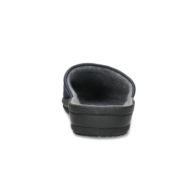 Kapcie męskie bata, niebieski, 879-9600 - 15