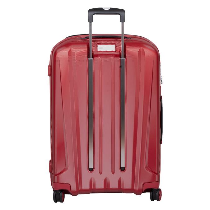 Duża czerwona twarda walizka na kółkach roncato, czerwony, 960-5736 - 26