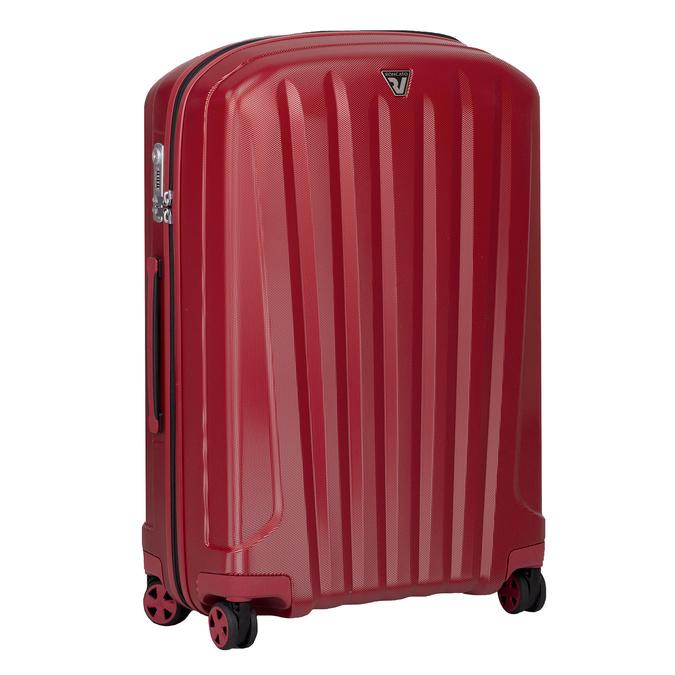Duża czerwona twarda walizka na kółkach roncato, czerwony, 960-5736 - 13