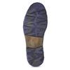 Skórzane obuwie męskie za kostkę zzamkami błyskawicznymi bata, szary, 896-2678 - 18