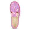 Różowe wzorzyste kapcie dziecięce bata, różowy, 379-5218 - 17