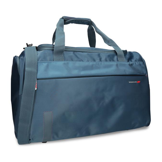 Torba podróżna z odpinanym paskiem na ramię. roncato, niebieski, 969-9725 - 13