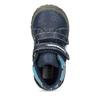 Niebieskie botki dziecięce na rzepy, niebieski, 111-9628 - 17