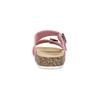 Różowe korkowe klapki damskie bata, różowy, 579-5625 - 15