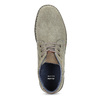Skórzane obuwie męskie za kostkę, zprzeszyciami bata, szary, 843-2640 - 17