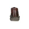 Skórzane obuwie męskie za kostkę bata, brązowy, 846-4718 - 15