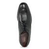 Czarne skórzane półbuty bugatti, czarny, 826-6052 - 17
