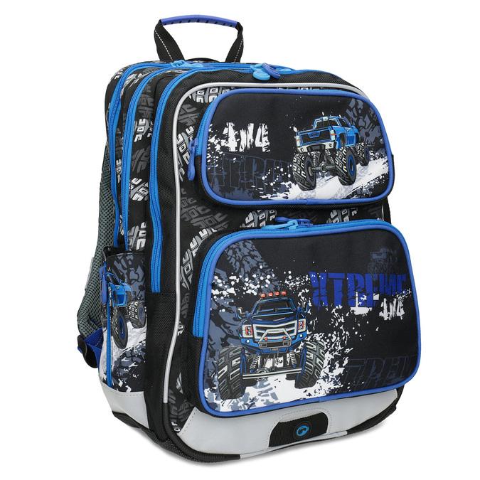 Plecak szkolny Monster Truck bagmaster, niebieski, 969-9713 - 13