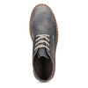 Skórzane obuwie męskie za kostkę weinbrenner, niebieski, 846-2658 - 17