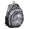Czarno-biały plecak szkolny bagmaster, szary, 969-2719 - 13