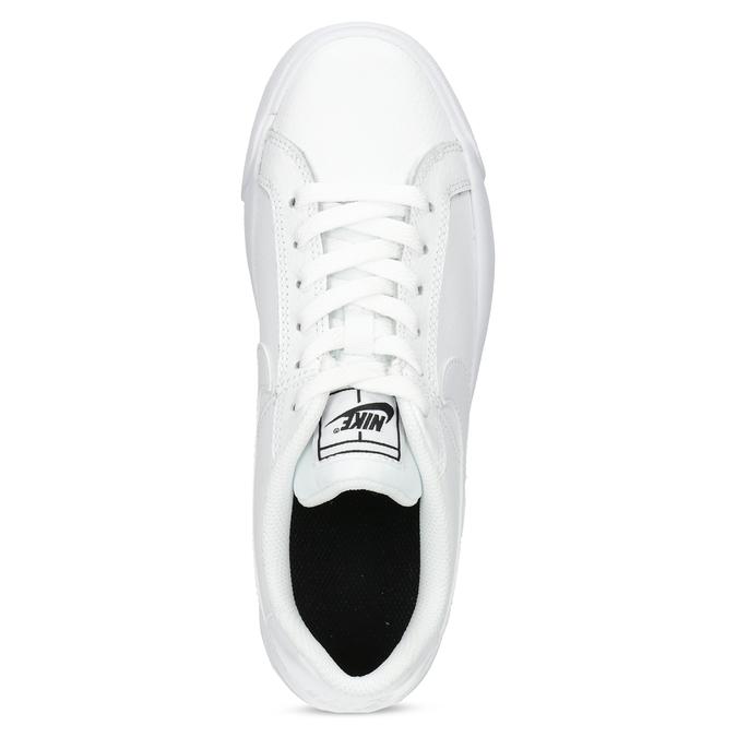 Białe trampki damskie nike, biały, 501-1153 - 17