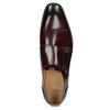 Skórzane półbuty męskie typu monki bata, czerwony, 826-5738 - 17