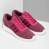 Różowe trampki dziecięce wmelanż adidas, różowy, 409-5188 - 26