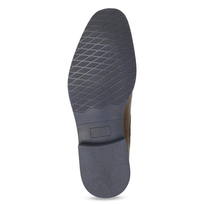 Skórzane obuwie męskie typu chelsea bata, brązowy, 826-3865 - 18