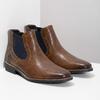 Skórzane obuwie męskie typu chelsea bata, brązowy, 826-3865 - 26