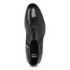 Skórzane obuwie męskie za kostkę, zprzeszyciami bata, czarny, 824-6621 - 17