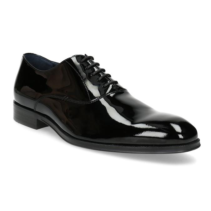 48a38ff7 Lakierowane skórzane półbuty męskie typu oksfordy bata, czarny, 828-6608 -  13