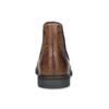 Brązowe skórzane obuwie za kostkę bugatti, brązowy, 816-4065 - 15