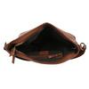 Brązowa torebka damska wstylu hobo bata, brązowy, 961-3922 - 15
