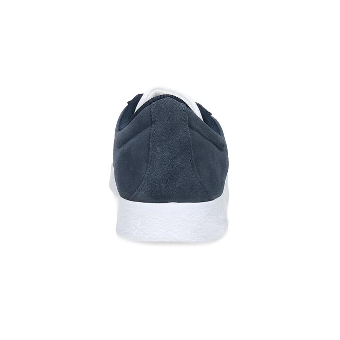 Zamszowe trampki męskie adidas, niebieski, 803-9379 - 15