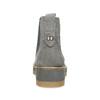 Szare skórzane obuwie damskie typu chelsea camel-active, szary, 616-2064 - 15