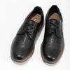 Granatowe półbuty męskie bata-red-label, czarny, 821-9609 - 16