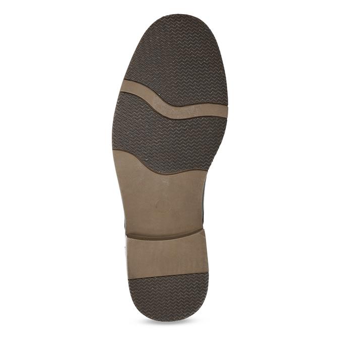 Granatowe półbuty męskie bata-red-label, czarny, 821-9609 - 18