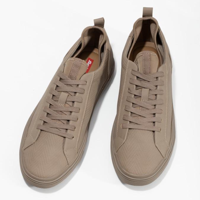 Jasnobrązowe trampki męskie bata-red-label, brązowy, 841-8623 - 16