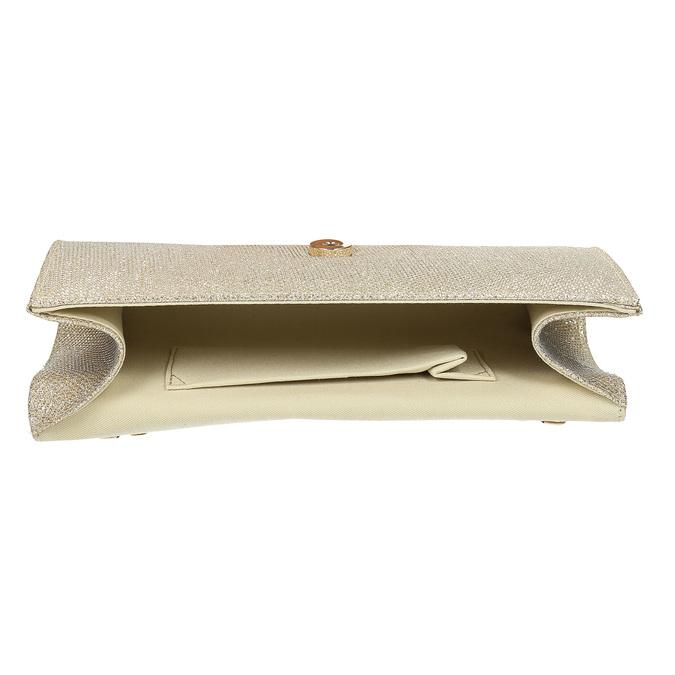 Złota kopertówka damska bata, złoty, 969-8701 - 15