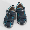 Granatowe zimowe obuwie dziecięce zociepliną, niebieski, 191-9616 - 16