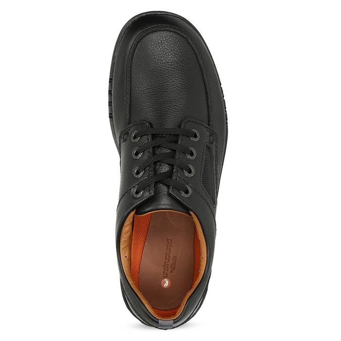 Przewiewne skórzane obuwie męskie clarks, czarny, 826-4089 - 17